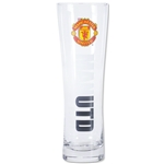 Manchester United Crest Slim Pint Glass