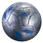 adidas Messi Mini Ball (Silver Metallic/Shock Blue)