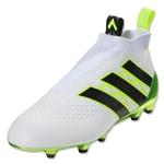 adidas Ace 16+ Purecontrol FG/AG Women's (White/Black/Solar Yellow)