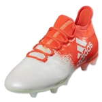 adidas X 16.2 FG Women's (White/Solar Red)