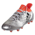 adidas X 16.1 FG (Silver Metallic/Black/Solar Red)