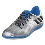 adidas Messi 16.3 IN Junior (Silver Metallic/Black/Shock Blue)