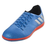 adidas Messi 16.3 IN Junior (Shock Blue/Silver Metallic)