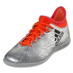 adidas X 16.3 IN Junior (Silver Metallic/Black Solar Red)