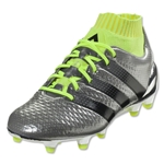 adidas Ace 16.1 Primeknit FG Junior (Silver Metallic/Black/Solar Yellow)