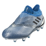 adidas Messi 16+ Pureagility FG Junior (Silver Metallic/Black/Shock Blue)