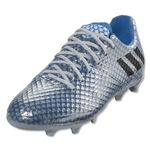 adidas Messi 16.1 FG Junior (Silver Metallic/Black/Shock Blue)