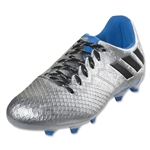 adidas Messi 16.3 FG Junior (Silver Metallic/Black/Shock Blue)