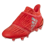 adidas X 16+ Purechaos FG Junior (Solar Red/Silver Metallic)