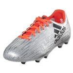 adidas X 16.3 FG Junior (Silver Metallic/Black/Solar Red)