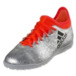 adidas X 16.3 TF Junior (Silver Metallic/Black/Solar Red)