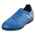 adidas Messi 16.3 TF Junior (Shock Blue/Silver Metallic)