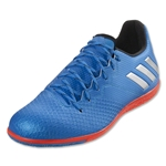 adidas Messi 16.3 IN (Shock Blue/Silver Metallic)