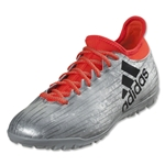 adidas X 16.3 TF (Silver Metallic/Black/Solar Red)