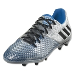 adidas Messi 16.2 FG (Silver Metallic/Black/Shock Blue)