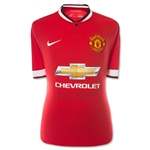 Signed Wayne Rooney 14/15 Front MUFC Jersey