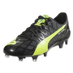 Puma evoSpeed SL-S FG (Black/Safety Yellow)
