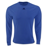 adidas ClimaLite LS T-Shirt (Royal Blue)
