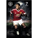 Manchester United Memphis Poster