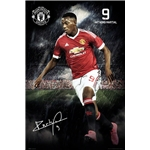 Manchester United Martial Poster