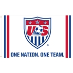 USA 3x5 Flag (White)