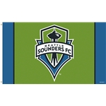 Seattle Sounders 3x5 Flag