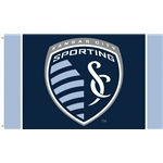 Sporting KC 3x5 Flag