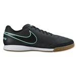 Nike Tiempo Genio II Leather IC (Black/Hyper Turquoise)