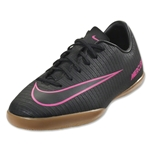 Nike Junior Mercurial Vapor XI IC (Black/Pink Blast)