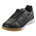Nike Junior Tiempo Legend 6 IC (Black/Hyper Turquoise)