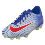 Nike Junior Mercurial Vapor XI FG (White/Bright Crimson)