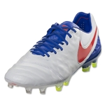 Nike Women's Tiempo Legend 6 FG (White/Bright Crimson)