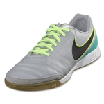 Nike Tiempo Genio II Leather IC (Wolf Gray/Black)