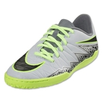 Nike Hypervenom Phelon II IC Junior (Pure Platinum/Black)