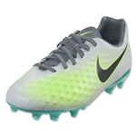 Nike Magista Opus II FG Junior (Pure Platinum/Black)