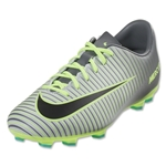 Nike Mercurial Vapor XI FG Junior (Pure Platinum/Black)