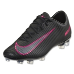 Nike Mercurial Veloce III FG (Black/Total Crimson)