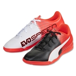Puma evoSpeed 5.5 IT Junior (Puma Black/Puma White/Red Blast)