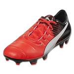 Puma evoPower 1.3 FG Junior (Red Blast/Puma White/Puma Black)