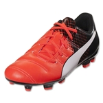 Puma evoPower 4.3 FG Junior (Red Blast/Puma White/Puma Black)