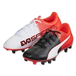 Puma evoSpeed 5.5 FG Junior (Puma Black/Puma White/Red Blast)