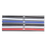 Under Armour Under Armour Mini Headbands 6 Pack (Red/Black)