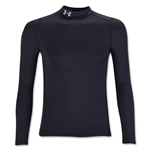 Under Armour ColdGear Boy's Armour Mock Top (Black)