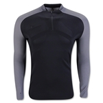 Nike AeroSwift Strike 1/4 Zip Top (Black/White)