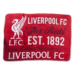 Liverpool Giant Sherpa Fleece Blanket