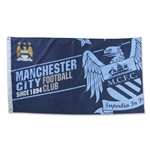 Manchester City Established 5x3 Flag