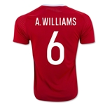Wales 2016 WILLIAMS Home Soccer Jersey