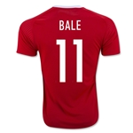 Wales 2016 BALE Home Soccer Jersey
