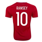 Wales 2016 RAMSEY Home Soccer Jersey