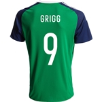 Northern Ireland 2016 GRIGG Home Soccer Jersey